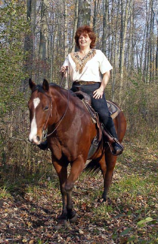 Pam Barnes, America - Ranch Horse woman